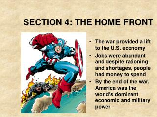 SECTION 4: THE HOME FRONT