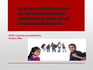 EMPA Capstone presentation by Kristen Miles