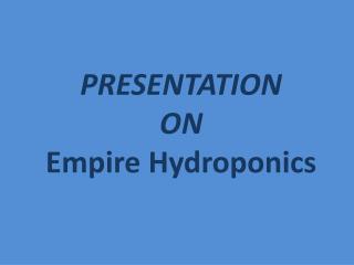 Syracuse Hydroponics