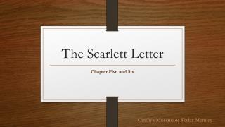 The Scarlett Letter