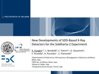 New Developments of SDD-Based X-Ray Detectors for the Siddharta-2 Experiment