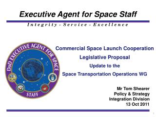 Commercial Space Launch Cooperation  Legislative Proposal  Update to the