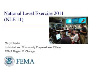 National Level Exercise 2011  (NLE 11)