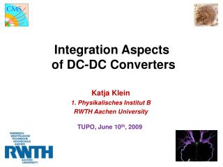 Integration Aspects  of DC-DC Converters