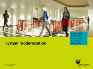 System Modernization