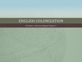 English colonization