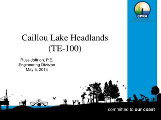 Caillou Lake Headlands  (TE-100)