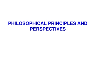Fundamental Principles of Ethics