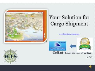 Your Solution for Cargo Shipment linksviasea.weebly