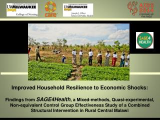 Improved Household Resilience to Economic Shocks: