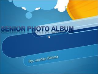 Senior Photo Albu m