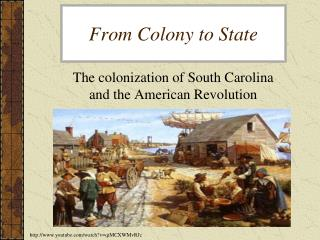 From Colony to State