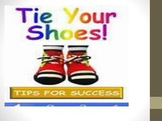 Does your shoe have laces?