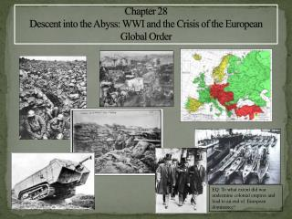 Chapter 28 Descent into the Abyss: WWI and the Crisis of the European Global Order