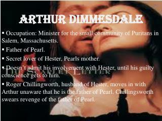 Arthur  Dimmesdale