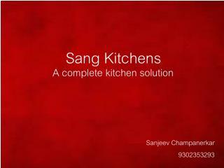 Sang Kitchens