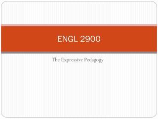 ENGL 2900