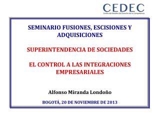 SEMINARIO FUSIONES, ESCISIONES Y ADQUISICIONES