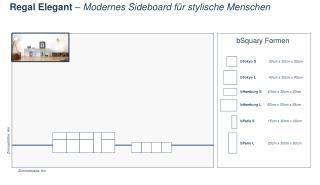 Regal  Elegant  – Modernes Sideboard für stylische Menschen