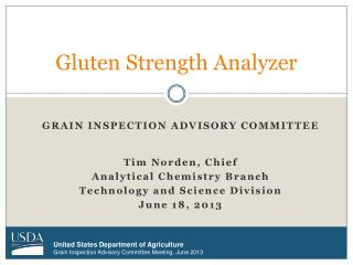 Gluten Strength Analyzer