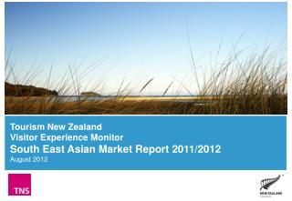 Overall  visitor  s atisfaction (South East Asian  v isitors  to New Zealand)