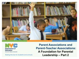 Parent Associations and  Parent-Teacher Associations: