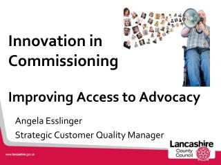 Innovation in Commissioning Improving Access to Advocacy