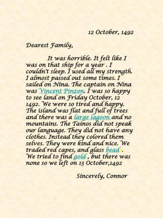12 October, 1492