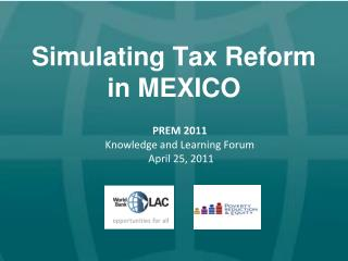 Simulating Tax Reform  in MEXICO