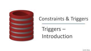 Constraints & Triggers