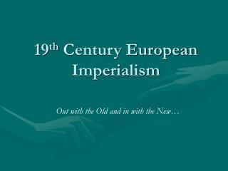 19th Century European Imperialism