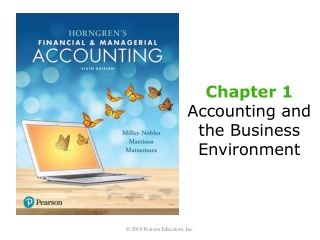 Managerial Accounting  the Business Environment