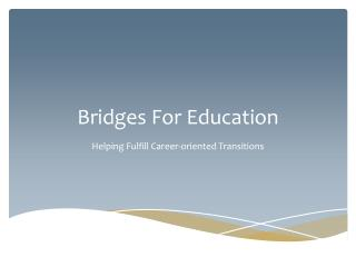 Bridges For Education