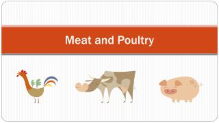 Meat and Poultry