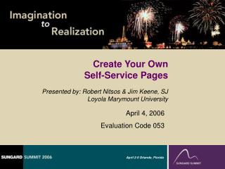Create Your Own Self-Service Pages
