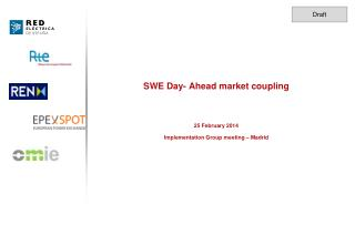 SWE Day- Ahead market  coupling