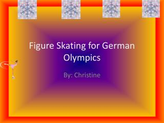 Figure Skating for German Olympics