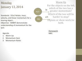 Monday,  January 13, 2014