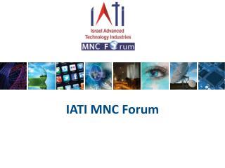 IATI MNC Forum