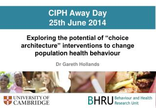 CIPH Away Day 25th June 2014
