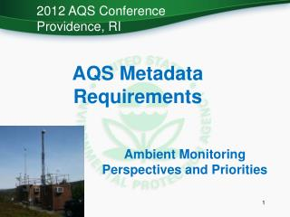 AQS Metadata Requirements
