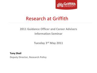 Research at Griffith
