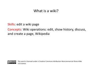 S kills : edit a wiki page
