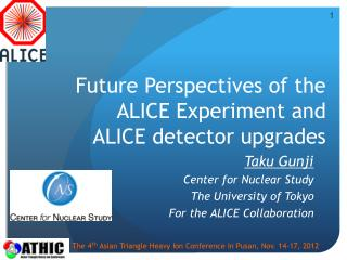 Future Perspectives of the ALICE Experiment  and  ALICE detector upgrades