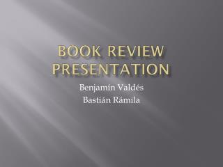 Book review presentation