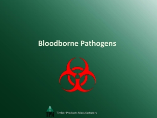 BLOODBORNE DISEASES