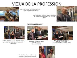 DJIBO MOSSI PRESIDENT DU CONSEIL REGIONAL DE L'ORDRE DES EXPERTS-COMPTABLES