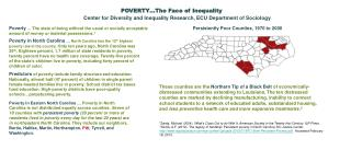 POVERTY…The Face of Inequality
