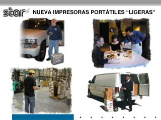 "NUEVA  impresoras portátiles  "" ligeras """