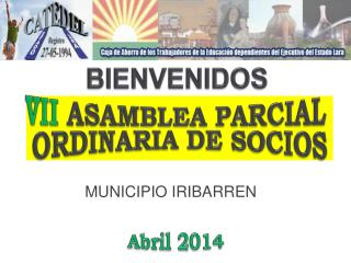 vII ASAMBLEA PARCIAL  ORDINARIA DE SOCIOS
